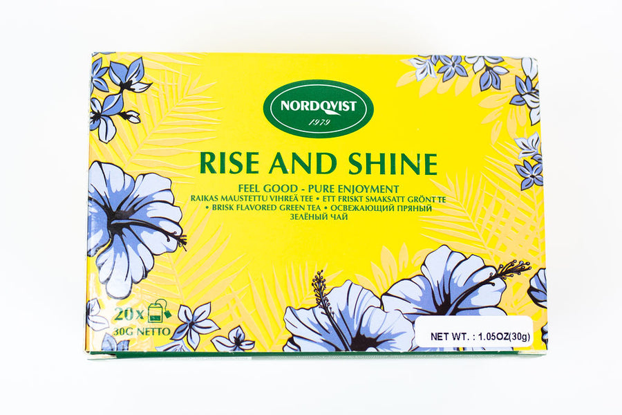 Nordqvist Rise And Shine Ginger, Lemongrass And Lemon Tea