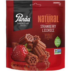 Panda All Natural Strawberry Licorice