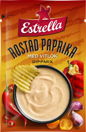 Estrella Roasted Peppers and Garlic Dip Mix