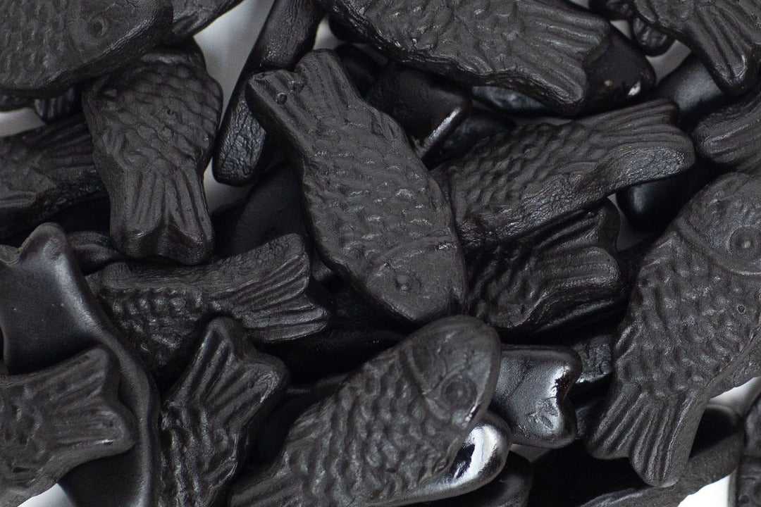 Lakrits Fiskar (Salty Licorice Fish)