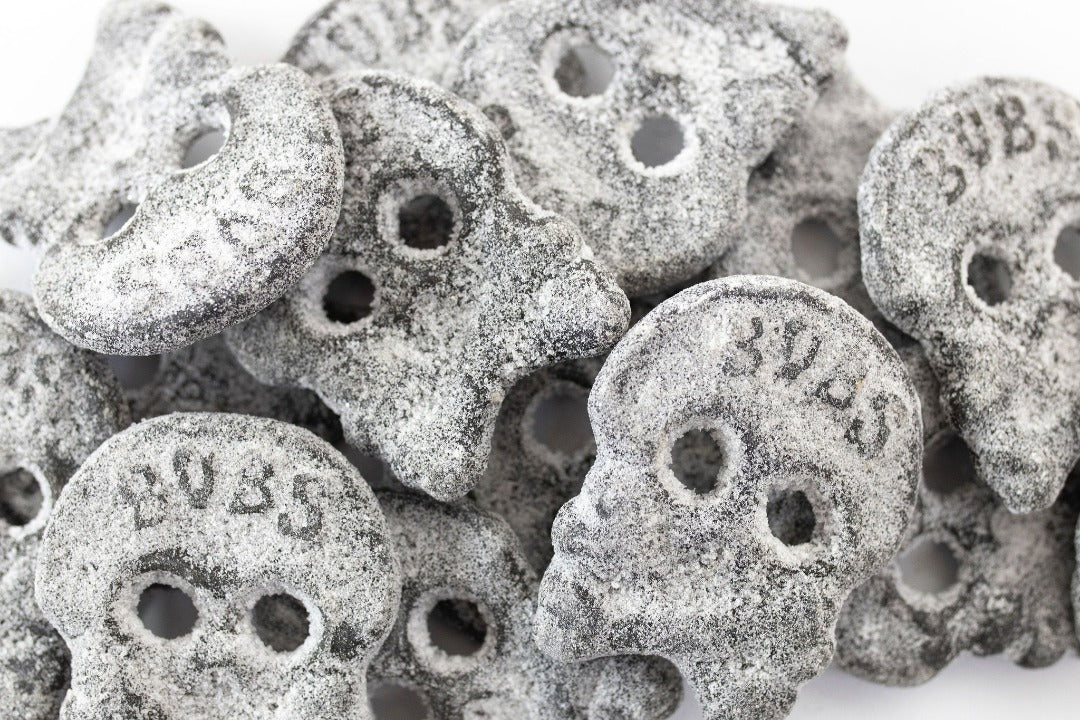 Stora Saltskallar (Salty Licorice Skulls)