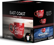 Load image into Gallery viewer, Gale Force, Dark Roast Coffee, Recyclable, 24 K-Cups