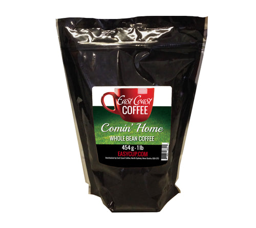 Comin' Home, Medium Roast, Whole Bean Coffee, 1lb Bag