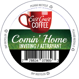 Comin' Home, Medium Roast Coffee, Recyclable, 96 K-Cups