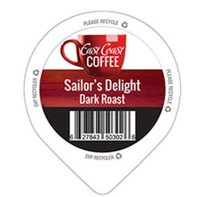 Load image into Gallery viewer, Sailor's Delight, Medium Roast Coffee, Recyclable, 96 K-Cups