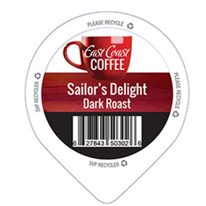 Sailor's Delight, Medium Roast Coffee, Recyclable, 24 K-Cups