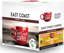 Load image into Gallery viewer, Fundy Fog Blaster, Medium Roast Coffee, Organic, Fair Trade, Recyclable, 24 K-Cups