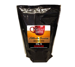 Atlantic Sunrise, Light Roast, Ground Coffee, 1lb Bag