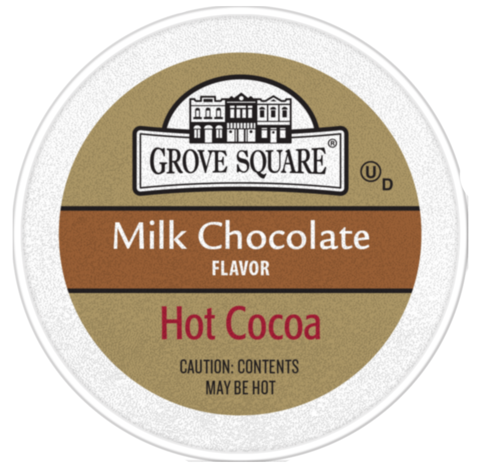 Grove Square, Creamy Milk Hot Chocolate, 96 K-Cups