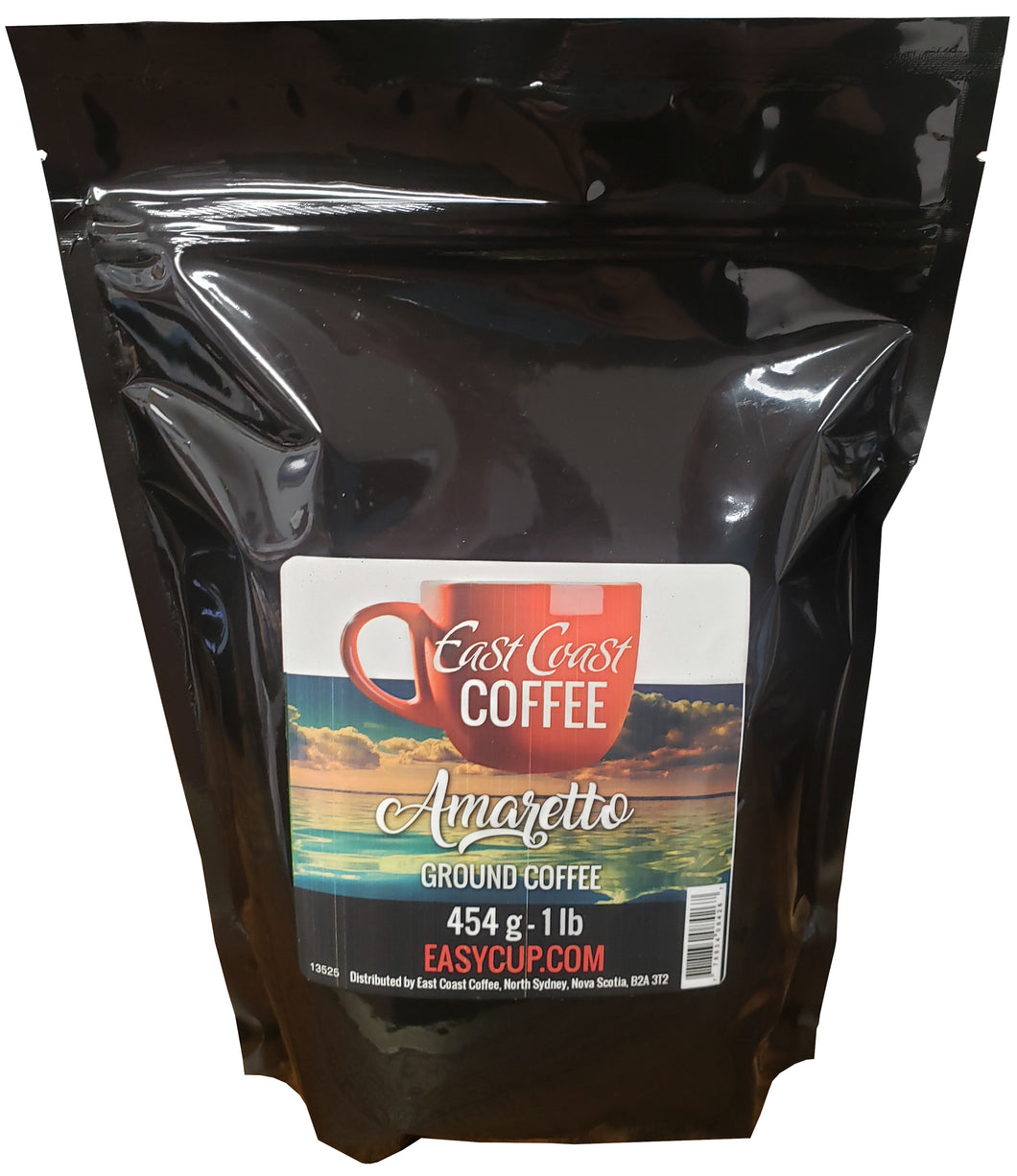 Amaretto, Ground Coffee, 1 lb Bag