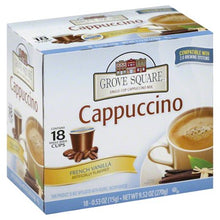 Load image into Gallery viewer, Grove Square Cappuccino Mix, French Vanilla, 96 K-Cups