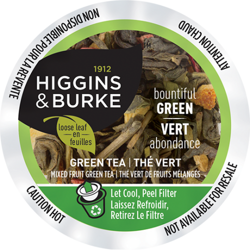 Higgins and Burke, Bountiful Green Tea, 96 K-Cups