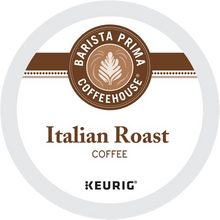 Load image into Gallery viewer, Barista Prima Coffeehouse Italian Roast, 24 K-Cups