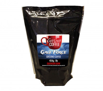 Gale Force, Dark Roast, Ground Coffee, 1lb Bag