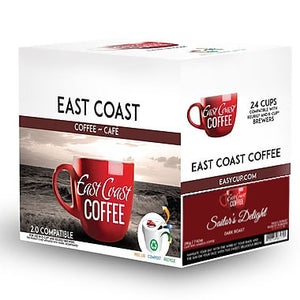 Sailor's Delight, Medium Roast Coffee, Recyclable, 96 K-Cups