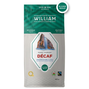 William - Decaf Whole Bean