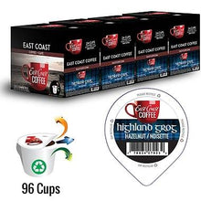 Load image into Gallery viewer, Highland Grog, Hazelnut Flavour Coffee, Recyclable, 96 K-Cups