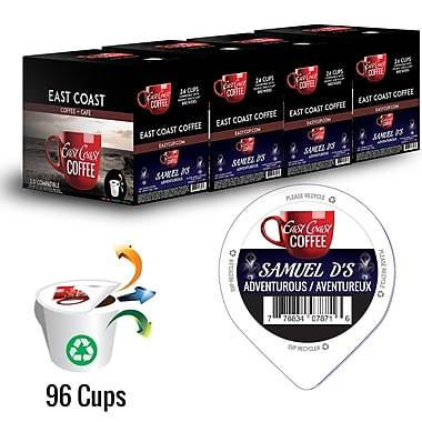 Samuel D's, Dark Roast Coffee, Recyclable, 96 K-Cups