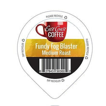 Load image into Gallery viewer, Fundy Fog Blaster, Medium Roast Coffee, Organic, Fair Trade, Recyclable, 96 K-Cups