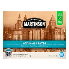 Load image into Gallery viewer, Martinson, Vanilla Velvet, 96 K-Cups