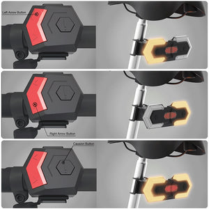 Bike Turn Signals Front and Rear Light with Smart Wireless Remote Control