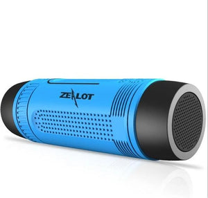 Powerful Waterproof Bluetooth Speaker and Flashlight