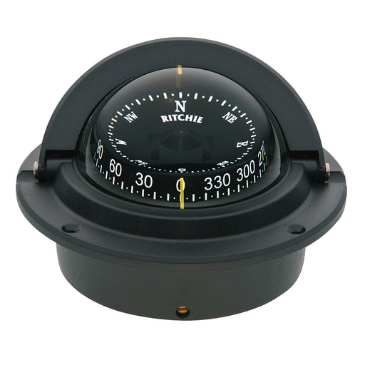 Ritchie F-83 Voyager Compass - Flush Mount - Black [F-83]