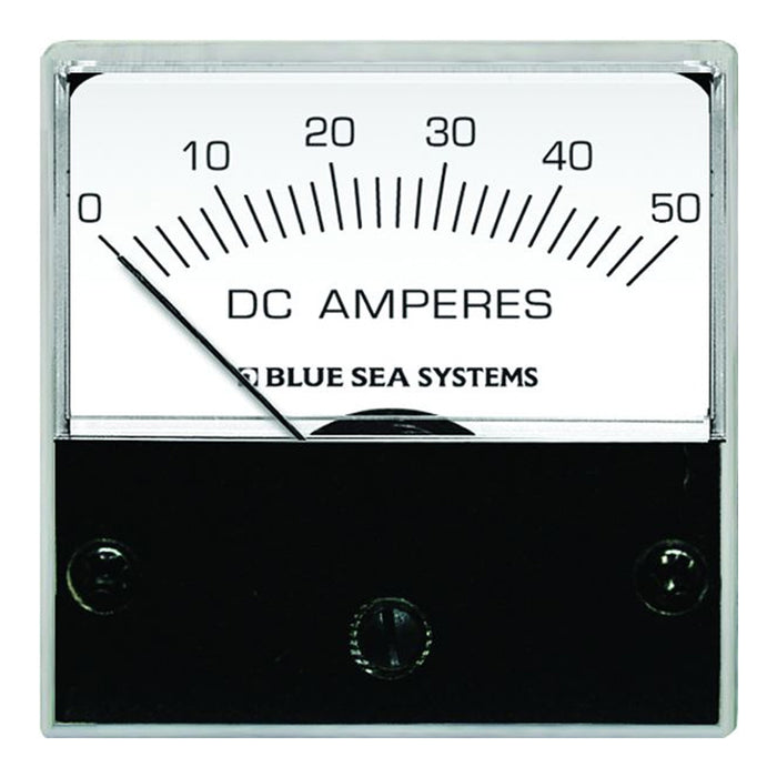 "Blue Sea 8041 DC Analog Micro Ammeter - 2"" Face, 0-50 Amperes DC [8041]"