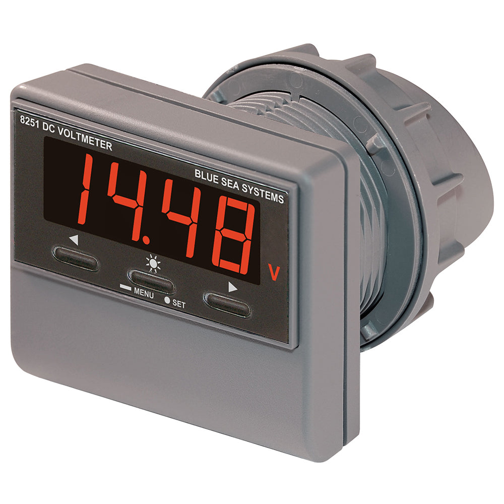 Blue Sea 8251 DC Digital Voltmeter w/Alarm [8251]
