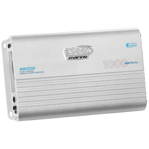 Boss Audio MR1000 Marine Power Amplifier 4-Channel MOSFET Bridgeable [MR1000]