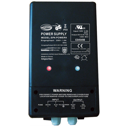 Milennia SPAPOWER9 Watertight Power Supply [MILSPAPOWER9]