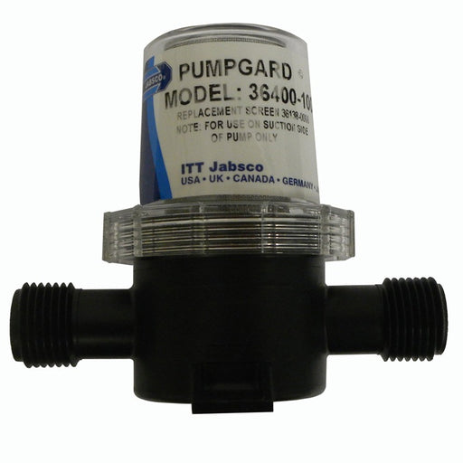 "Jabsco Pumpguard In-Line Strainer - 1/2"" NPT Port [36400-1000]"