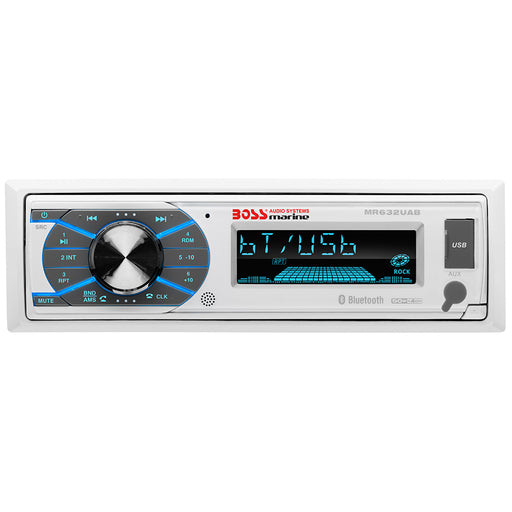 Boss Audio MR632UAB Single-DIN Multimedia Player USB/SD/MP3/WMA/AM/FM w/ Bluetooth [MR632UAB]