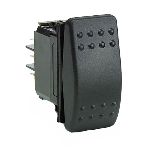 Cole Hersee Rocker Switch SPST On-Off 2 Blade [M-58031-01-BP]