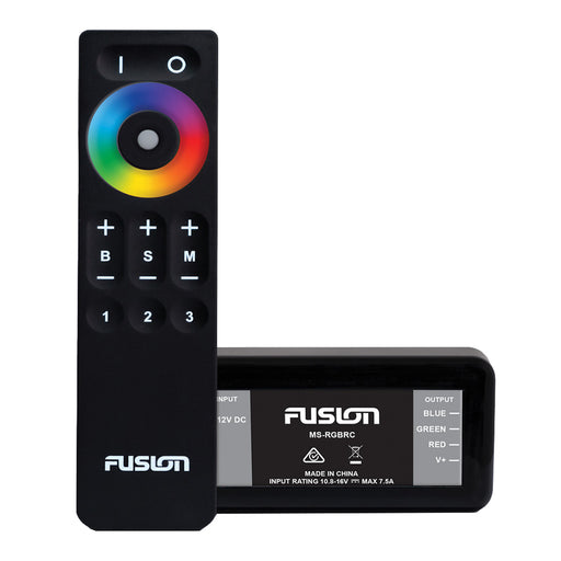 FUSION MS-RGBRC RGB Lighting Control Module w-Wireless Remote Control [010-12850-00]