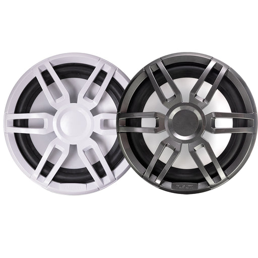 "FUSION XS-SL10SPGW XS Series 10"" 600 Watt Sports Marine Subwoofer - Sports White  Grey Grill Options [010-02198-20]"