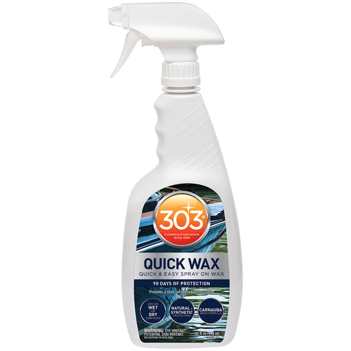 303 Marine Quick Wax w/Trigger Sprayer - 32oz [30213]