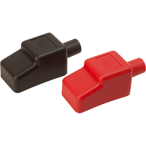 "Sea-Dog Battery Terminal Covers - Red/Back - 1/2"" [415110-1]"