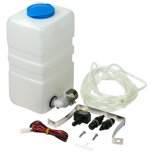 Sea-Dog Windshield Washer Kit Complete - Plastic [414900-3]