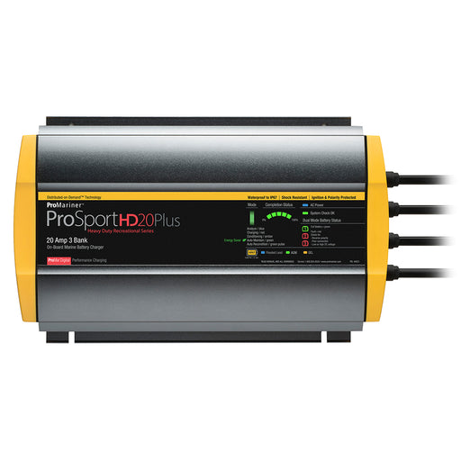ProMariner ProSportHD 20 Plus Gen 4 - 20 Amp - 3 Bank Battery Charger [44021]