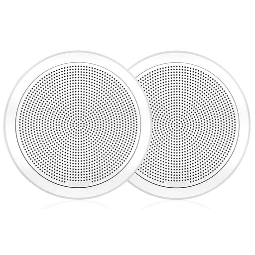"FUSION FM-F77RW FM Series 7.7"" Flush Mount Round Marine Speakers - White Grill - 200W [010-02300-00]"