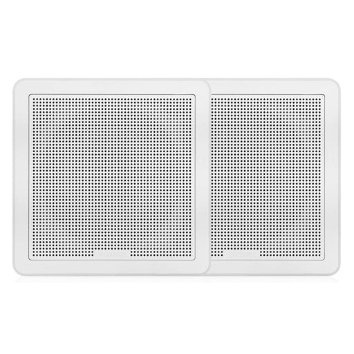 "FUSION FM-F77SW FM Series 7.7"" Flush Mount Square Marine Speakers - White Grill - 200W [010-02300-10]"