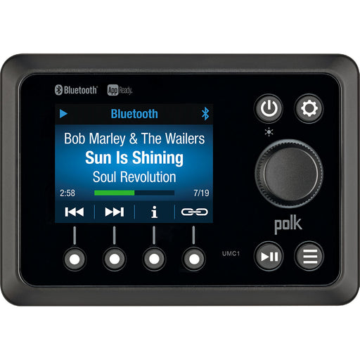 Polk App Ready Marine Commander Stereo - BT/AM/FM/APP [UMC1RTL]