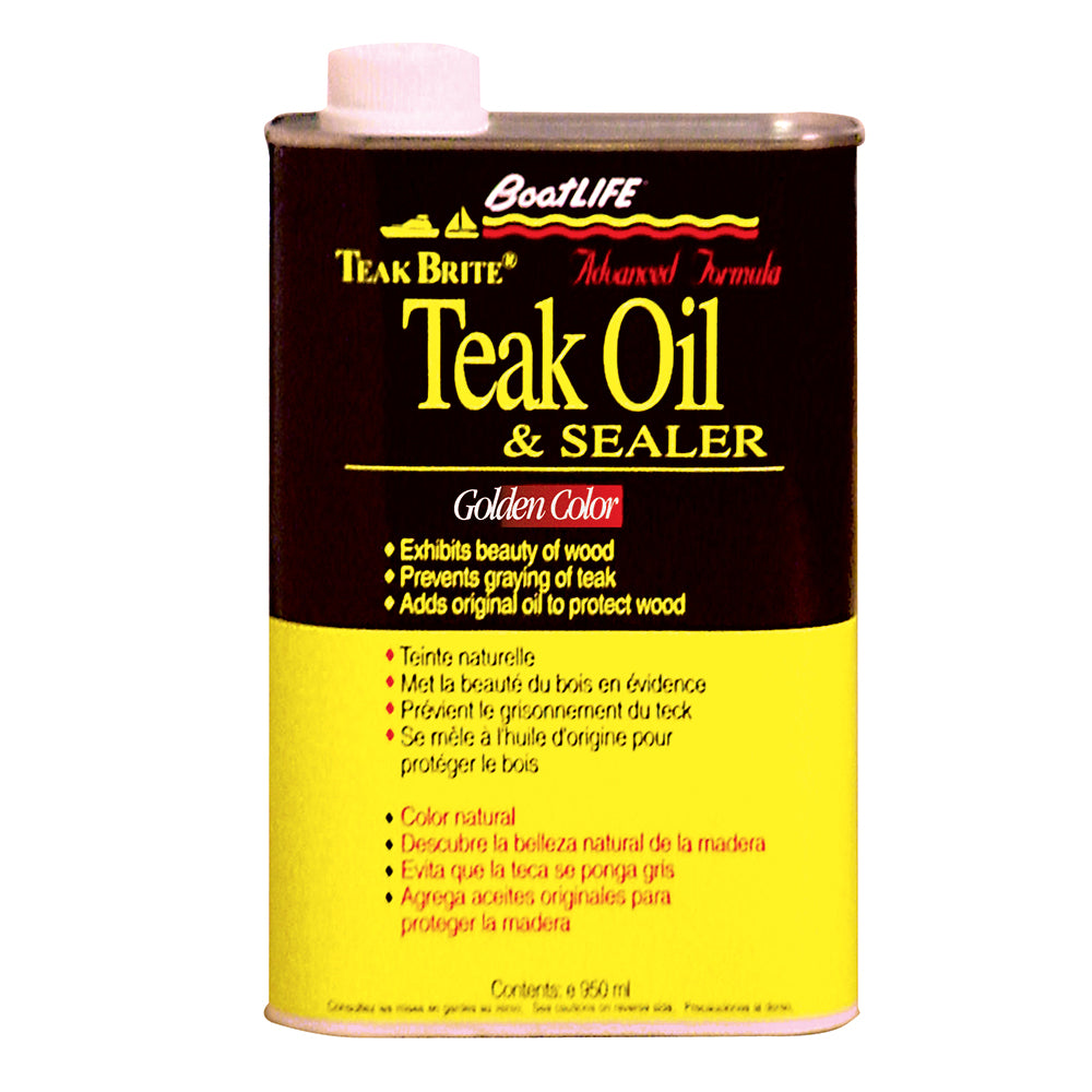 BoatLIFE Teak Brite Advanced Formula Teak Oil - 32oz [1188]