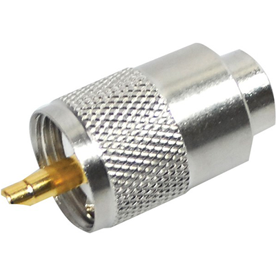 Gemeco PL-259 Connector, Solder Type, Silvered