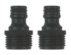 Gilmour Male Hose End Quick Connector Set
