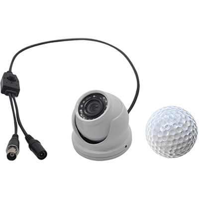KJM Camera, Mini Dome, 1000TVL, White