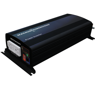 Magnum Energy Inverter, 1500W, 12V, Mod. Sine Wave