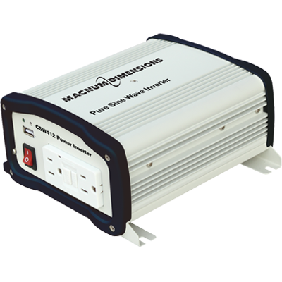 Magnum Energy Inverter, 400W, 12V, Pure Sine Wave