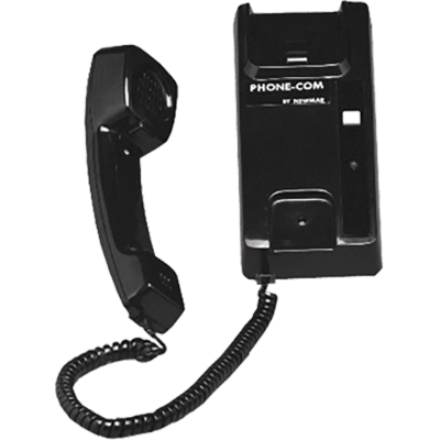 Newmar Phone Com Handset, 2 Station, Black